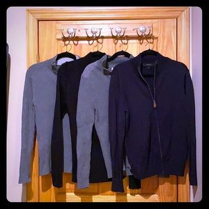 (4) Express Sweaters